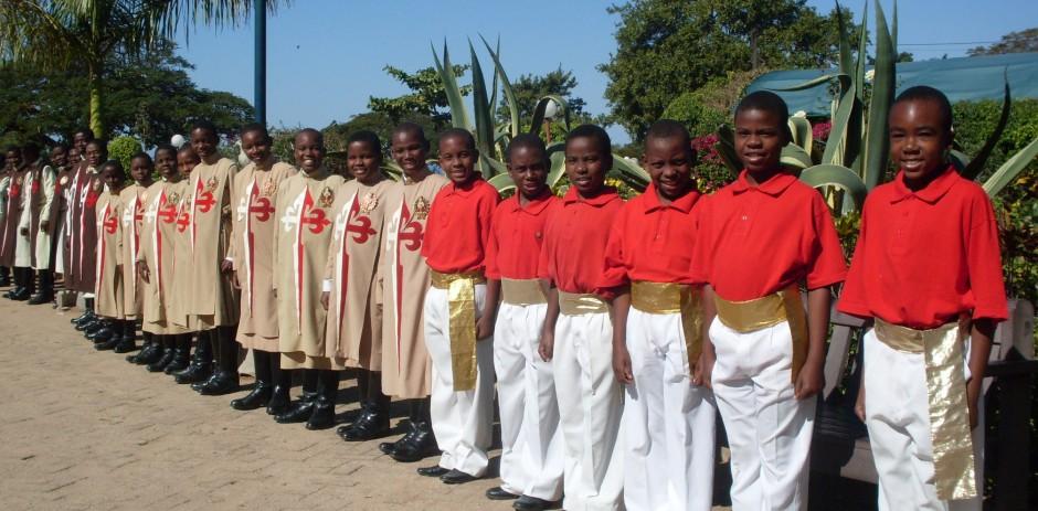 Arautos do Evangelho – África